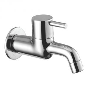 Oleanna Flora Brass Long Body Silver Taps & Faucets