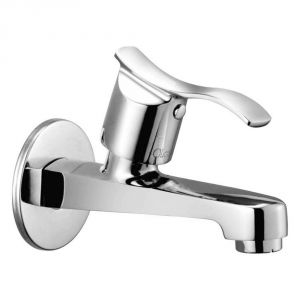 Oleanna Angel Brass Long Nose Silver Taps & Faucets