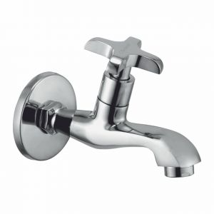 Oleanna Salsa Brass Long Nose Silver Taps & Faucets