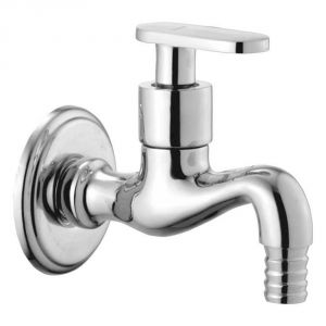 Oleanna Metro Brass Nozzle Cock Silver Taps & Faucets