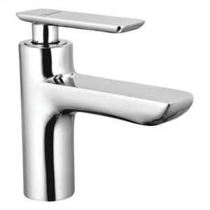 Oleanna Golf Brass Pillar Cock Silver Taps & Faucets
