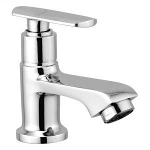 Oleanna Speed Brass Pillar Cock Silver Taps & Faucets