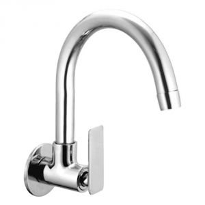 Oleanna Golf Brass Sink Cock Silver Taps & Faucets