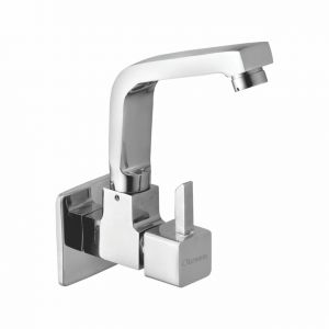 Oleanna Livon Brass Sink Cock Silver Taps & Faucets