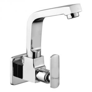 Oleanna Speed Brass Sink Cock Silver Taps & Faucets