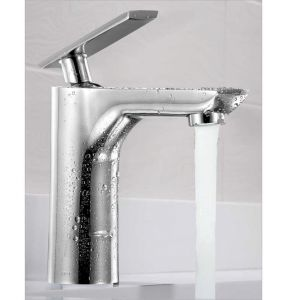 Oleanna Golf Brass Single Lever Basin Mixer Silver Water Mixer