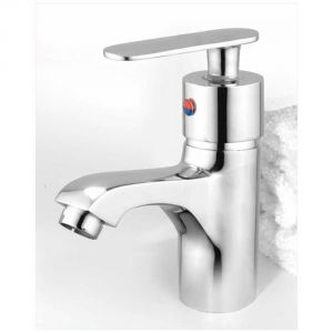 Oleanna Speed Brass Single Lever Basin Mixer Silver Water Mixer