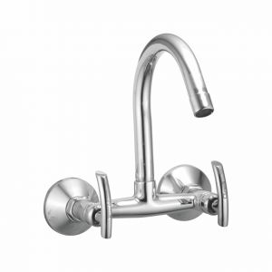 Oleanna Citizen Brass Sink Mixer Silver Water Mixer