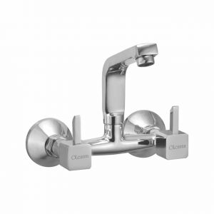 Oleanna Livon Brass Sink Mixer Silver Water Mixer