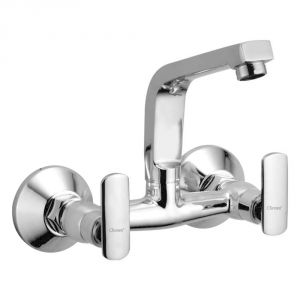 Oleanna Speed Brass Sink Mixer Silver Water Mixer
