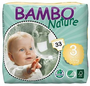 Bambo Nature Midi 5-9 Kg , 33 Count, Size 3