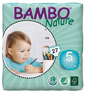Bambo Nature Junior 12-22 Kg, 27 Count, Size 5