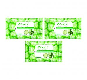 Cucumber Mint Wet Wipes Pack Of 3