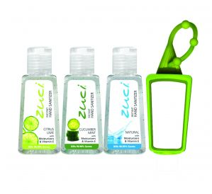 Personal Care, Hygiene - ZUCI 30 ML CITRUS LIME, CUCUMBER MINT, AND NATURAL HAND SANITIZER WITH BAG TAG