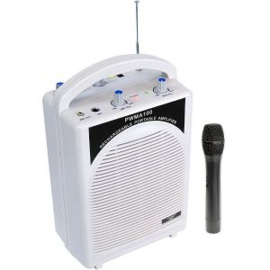 Portable Wireless Rechargeable P A System With Built In Amplifier,speaker & Usb,mp3 Player