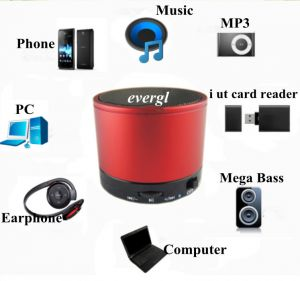 Mini Bluetooth Speaker With Fm,sd Player