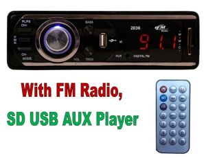 Car CD, MP3 Players - Car Stereo Multimedia Player With FM Player And USB SD AUX IN Slots