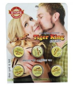 Sensual wellness - Pack Of 2 (12 Dibbis) Tiger King Delay Cream For Men