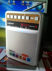 Landmark // Sonilex FM FM Radio With Sd,usb,aux Slots,ext Battery Option