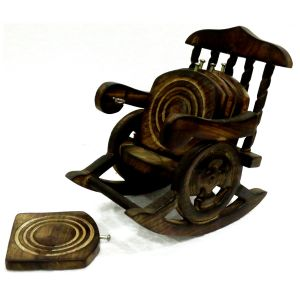 Mariyam Wooden Chair Tea Coaster