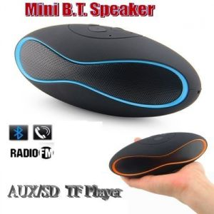 MP3 Players - Portable Wireless Bluetooth Mini Stereo Speaker FM Radio Usb/micro SD