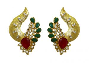 La Trendz Designer Ruby Women Green Earring( Lt2043)