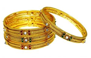 La Trendz Wedding Wear Multicolour Royal Bangles For Women(lt2457)