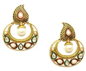 La Trendz Multicolor Antique Drop Earrings(lt2020)