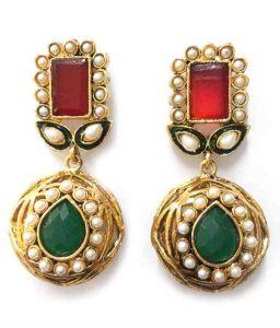 Earrings - La Trendz Jaipur Gokru Earring(LT_963)