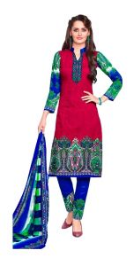 Padmini Unstitched Printed Cotton Dress Materials (product Code - Dtsjnaira1006)
