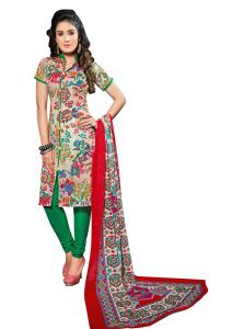 Padmini Unstitched Printed Cotton Dress Material (product Code - Dtsjexotica1009)