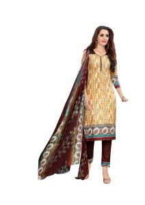 Padmini Unstitched Printed Cotton Dress Materials (product Code - Dtsjnaira1002)