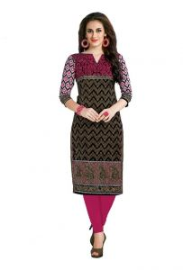 Padmini Unstitched Printed Cotton Kurti Fabrics (product Code - Dtafcoolcot2101)