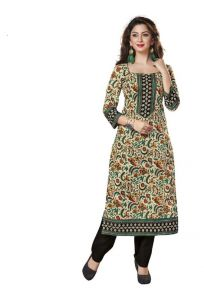 Padmini Unstitched Printed Cotton Kurti Fabrics (product Code -dtkakavya1115)