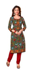 Padmini Unstitched Printed Cotton Kurti Fabrics (product Code -dtkakavya1153)