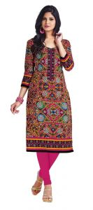 Padmini Unstitched Printed Cotton Kurti Fabrics (product Code - Dtkapriya2159)