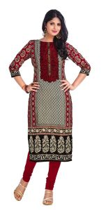 Padmini Unstitched Printed Cotton Kurti Fabrics (product Code - Dtkapriya2166)