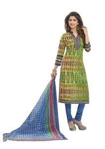Padmini Unstitched Printed Cotton Dress Materials Fabrics (product Code - Dtafspl2901)