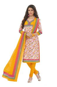 Padmini Unstitched Printed Cotton Dress Materials Fabrics (product Code - Dtafspl2902)