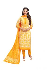 Padmini Unstitched Printed Cotton Dress Material (product Code - Dtafspl3711)