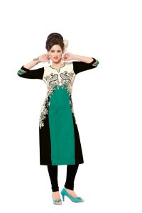 Padmini Unstitched Printed Cotton Kurti Fabrics (product Code - Dtafsaheli1423)