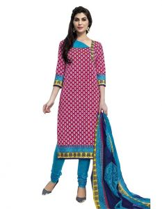 Padmini Unstitched Printed Cotton Dress Material (product Code - Dtmcm5007)
