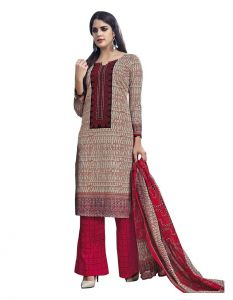 Padmini Unstitched Printed Cotton Dress Material (product Code - Dtmcm5018)
