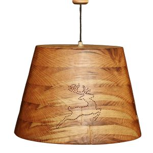 Lighting fixtures - Oval Conical with Reindeer