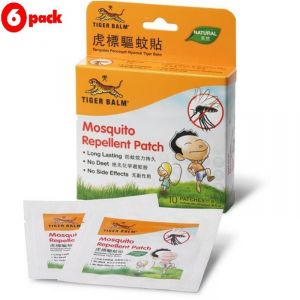 Tiger Balm Mosquito Repellent Patch - 10pc (pack Of 6)