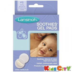 Baby Creams, Lotions, Oils - Lansinoh Soothies Gel Pads - 2pk