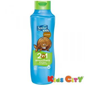 Suave Kids 2 In 1 Smoothers Shampoo + Conditioner 665ml (22.5oz) - Coconut