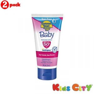Banana Boat Baby Sunscreen Lotion Spf50 - 90ml (3oz) (pack Of 2)