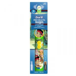 Oral-b Pro-health Stages Power Brush - Jake Never Land Pirates