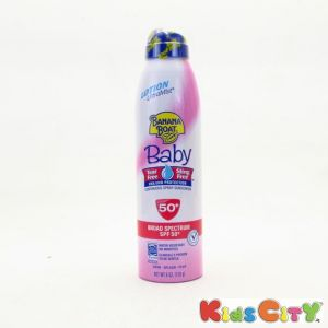 Banana Boat Baby Continuous Spray Sunscreen Spf50 - 170g (6oz) (pack Of 2)